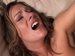 2 lesbian MILFs and large dildo