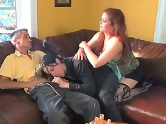 Chloe E,Colin Celtic and Deviant Kade are having fun in wild threesome porn scene
