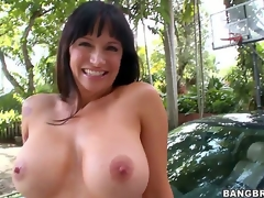 Are you willing to see another dong loving mommy go insane Angie Noir admits being a bit shy as this is her first time in front of the camera, but shes a natural talent!