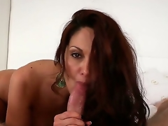 Ava Adams is a feisty brunette MILF with a killer body and a skilled mouth. Just watch this cougar seduce, then suck off, a ready youthful stud. Its a bit of a dying art.