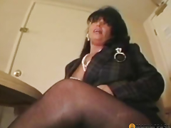 The peasant sucks cock experienced woman