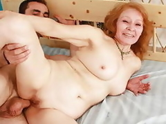 Dear mature playgirl gets unmitigatedly powered when pounded from behind