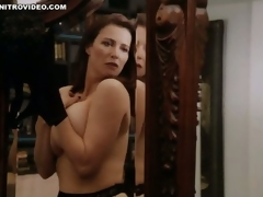 World's Hottest MILF Mimi Rogers Shows Her Giant Natural Knockers