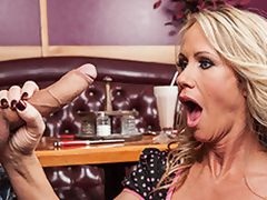 Naughty Day At The Diner With Simone Sonay