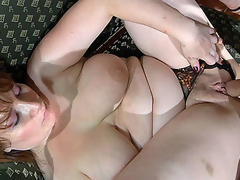 Curvy undressed mommy receives dicked by a nasty guy spying on her in the shower