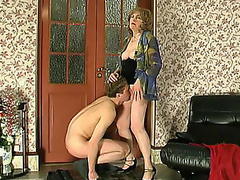 Kinky student trying to get some fucking knowledge from experienced mother i'd like to fuck