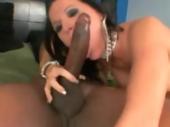 Super charming milf interracial sex